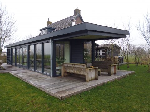 uitbreiding huis Friesland